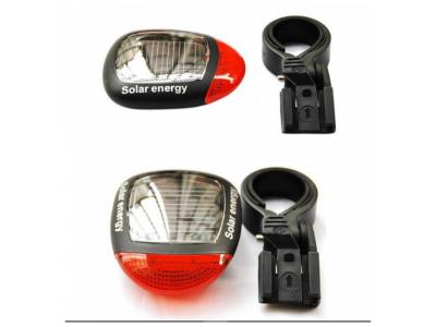 Вело фонарь BL-909 с солнечной батареей